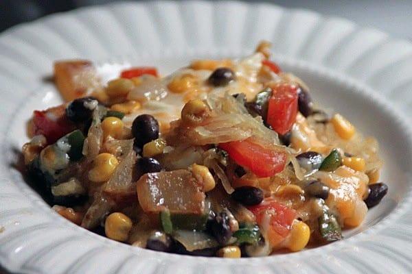 mexican spaghetti squash casserole - According to Elle