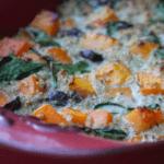 butternut squash quinoa gratin