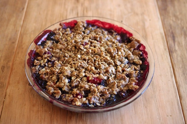 Simple Summer Berry Crumble 3