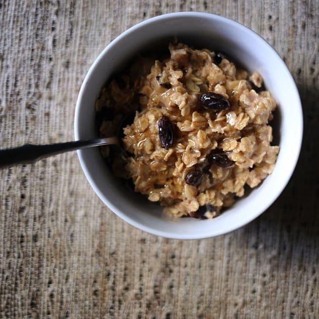 Easy Raisin Spice Oatmeal Mix 6