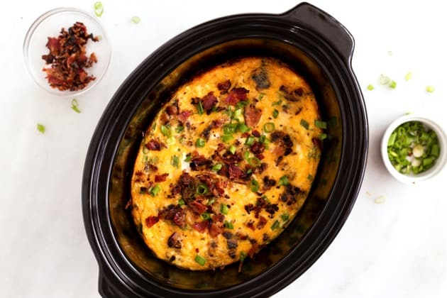 Slow Cooker Bacon Egg  Hashbrown Casserole 2