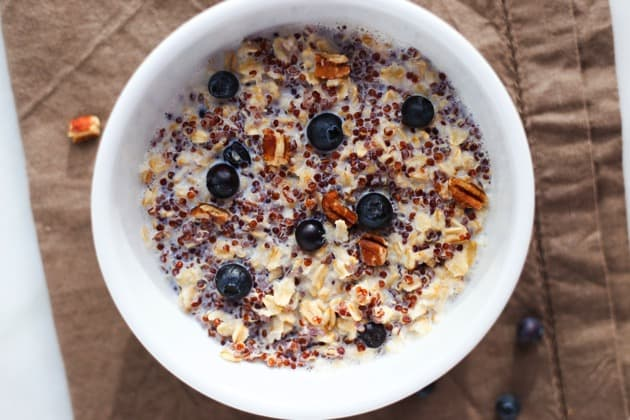 Quinoa Porridge With Blueberries And Pecans Recipes — Dishmaps