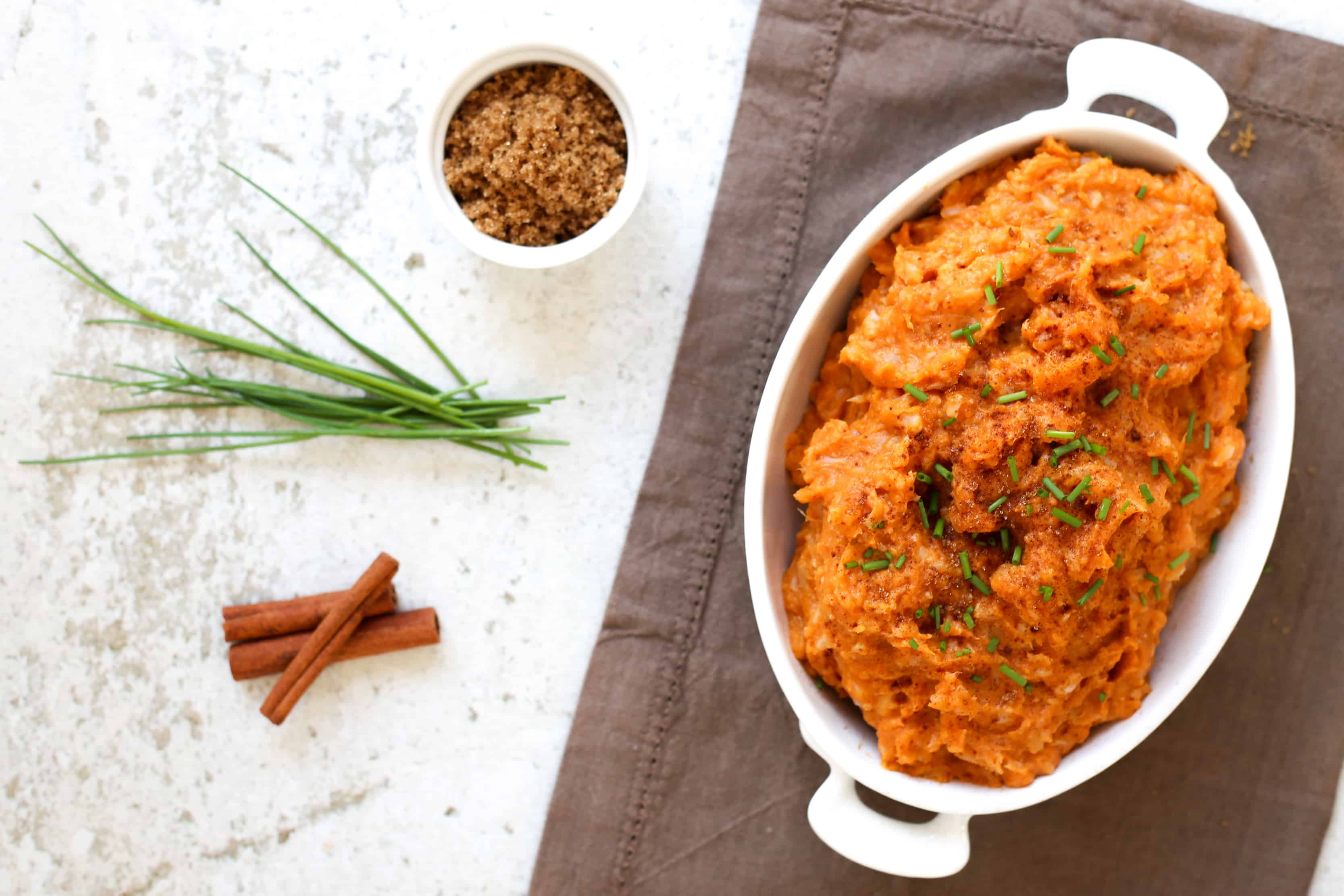 A super simple, deceivingly healthy side dish worthy of any holiday feast | accordingtoelle.com