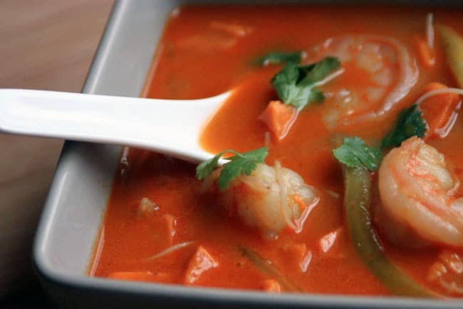 red curry soup 2