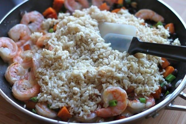 Coconut Rice  Shrimp Bowl03