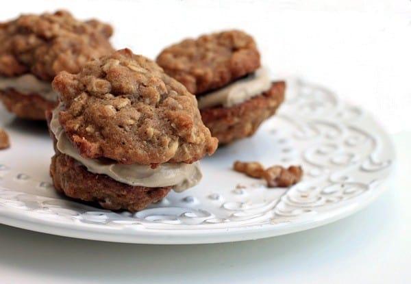 Maple walnut sandwich cookies6