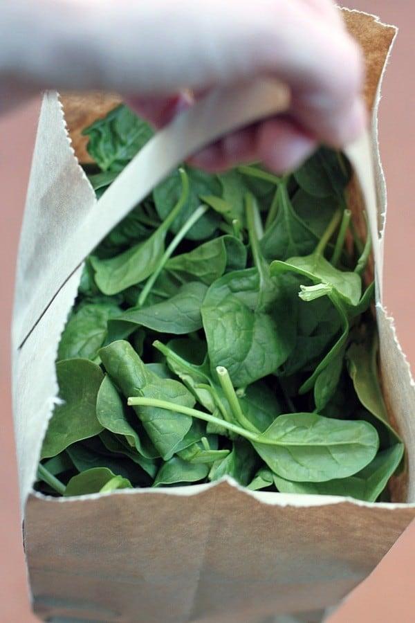 Mushroom spinach risotto2
