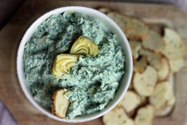 Spinach goatichoke dip11 1