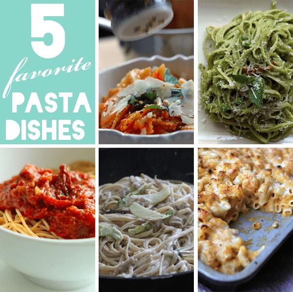 5 favorite pasta dishes nutritionella edited 1