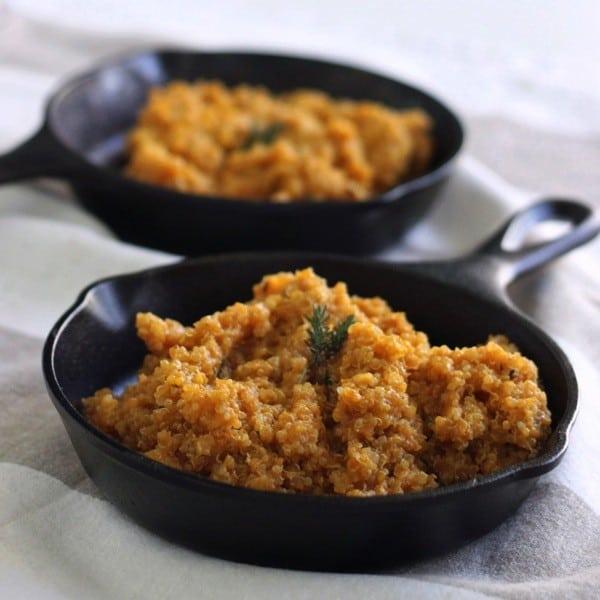 Pumpkin quinoa with thyme3