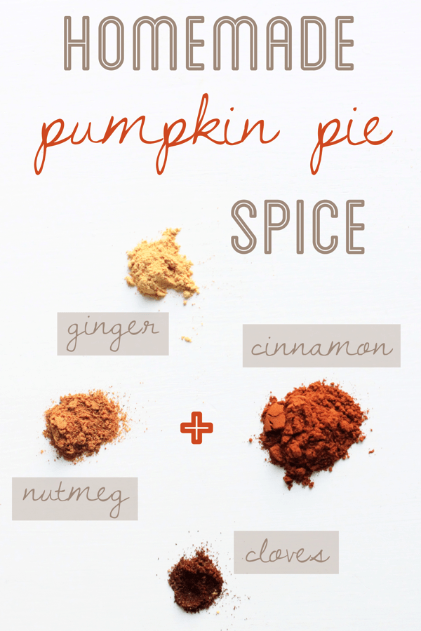 Homemade pumpkin pie spice recipe collage