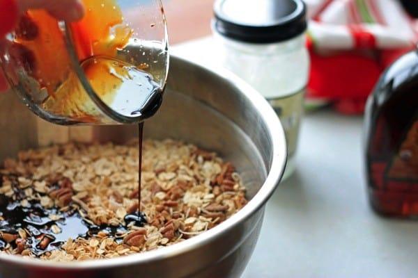 Gingerbread granola nutritionella 04