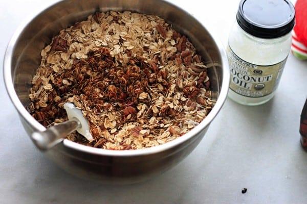 Gingerbread granola nutritionella 05