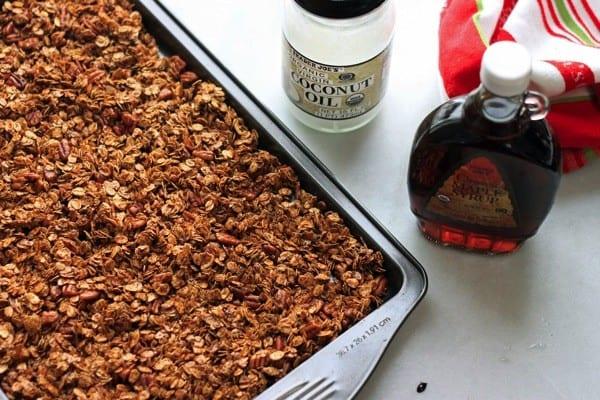 Gingerbread granola nutritionella 07