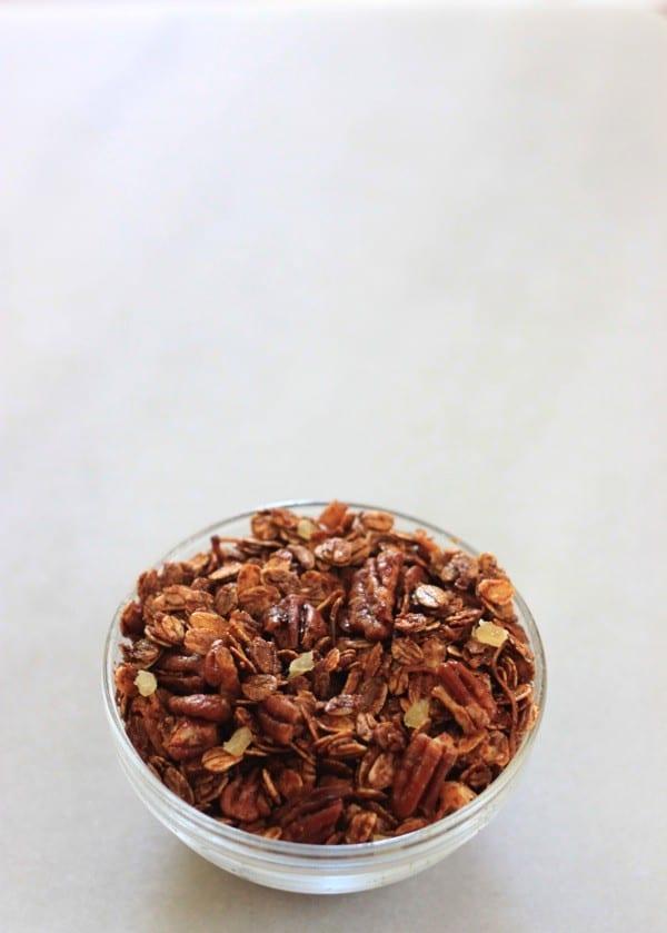 Gingerbread granola nutritionella14