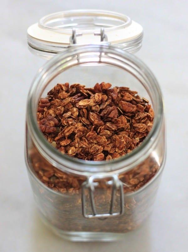 Gingerbread granola nutritionella15