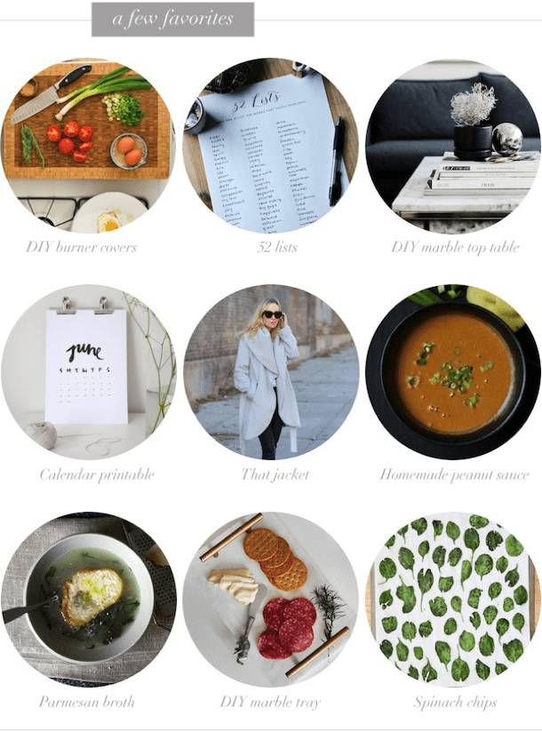 A few favorites nutritionella