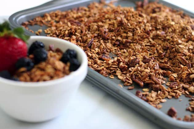 Simple homemade granola recipe 2