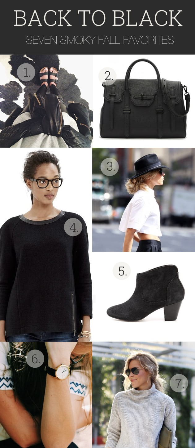7 Black Fall Fashion Essentials
