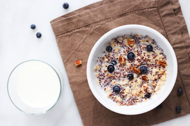 Blueberry Quinoa Oatmeal 3