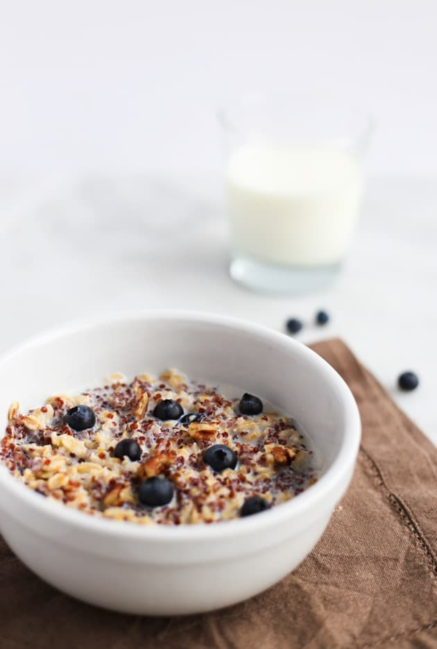Blueberry Quinoa Oatmeal 4