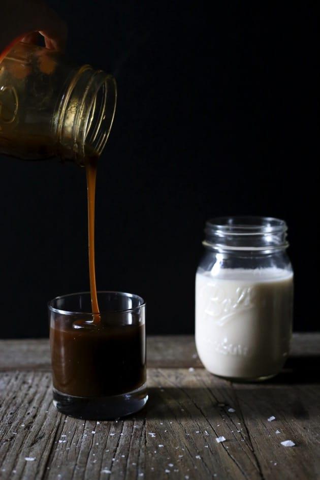 Vegan Salted Caramel Sauce 6