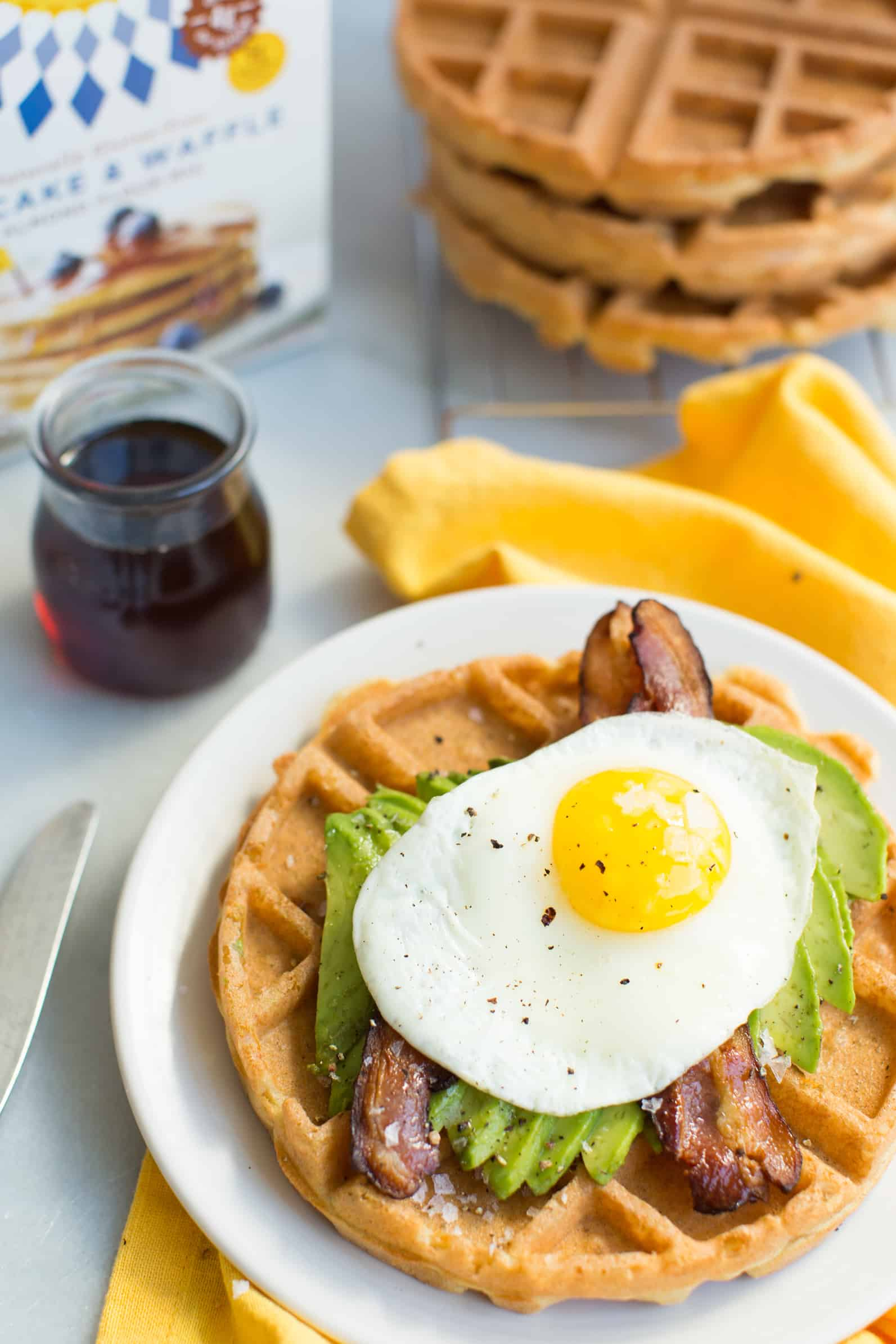 how to make simple waffles